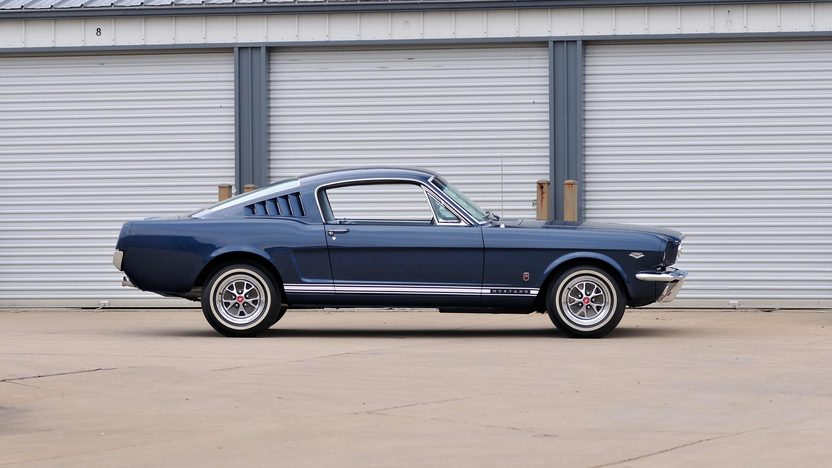 1965 Ford Mustang GT Fastback K-Code 289 CI, 4-Speed presented as lot T217 at Indianapolis, IN 2013 - image2