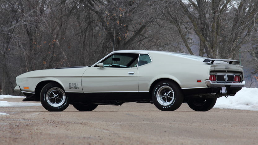 1971 Ford Mustang Mach 1 429 CJ, Automatic presented as lot T230 at Indianapolis, IN 2013 - image3