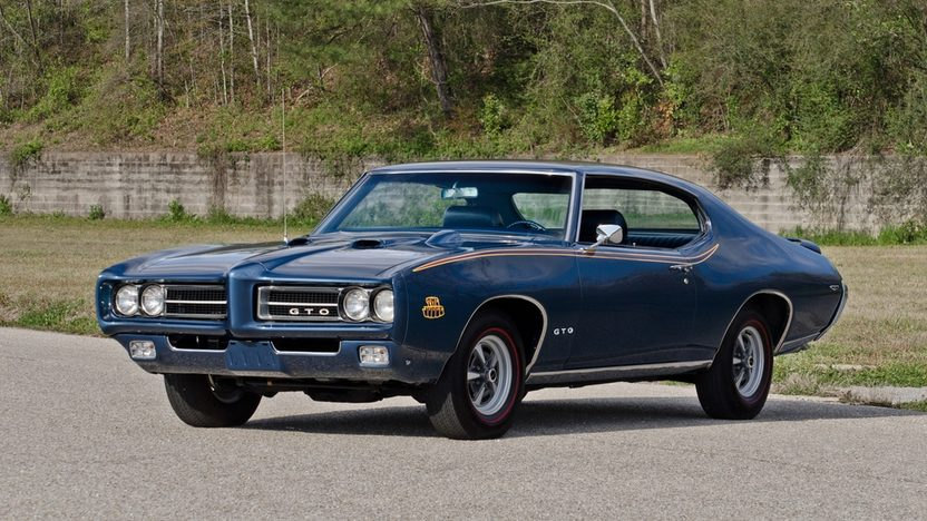1969 Pontiac GTO Judge 400/366 HP, Automatic presented as lot T233 at Indianapolis, IN 2013 - image11