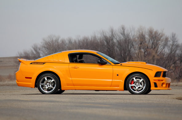 2007 Ford Mustang Roush Drag Pak #1 of 15 Built presented as lot T241 at Indianapolis, IN 2013 - image2