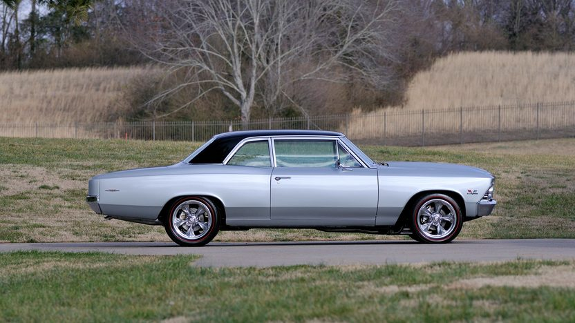 1966 Chevrolet Chevelle Resto Mod 454 CI, 5-Speed presented as lot T243 at Indianapolis, IN 2013 - image2
