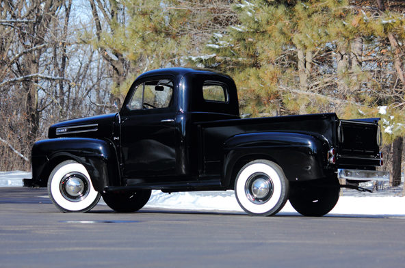 1950 Ford F1 Pickup All Steel Body, Six Cylinder Flathead presented as lot T244 at Indianapolis, IN 2013 - image3