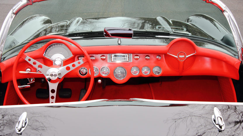 1956 Chevrolet Corvette Convertible 265/210 HP, 3-Speed presented as lot T256 at Indianapolis, IN 2013 - image6