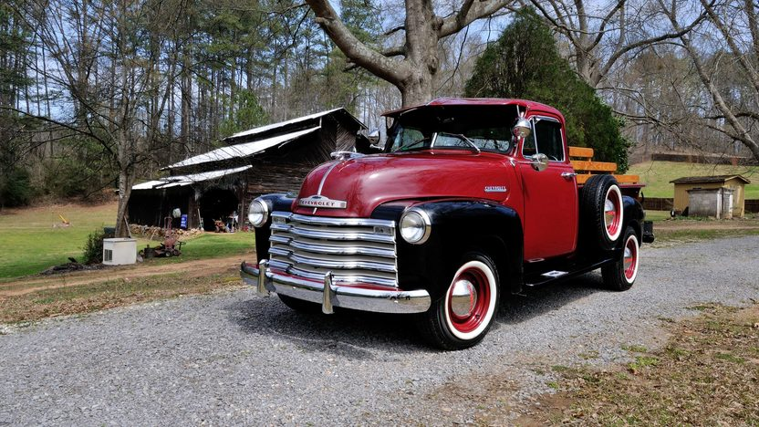 1953 Chevrolet 5 Window Pickup 261 CI, 5-Speed presented as lot T261 at Indianapolis, IN 2013 - image12