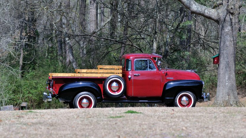 1953 Chevrolet 5 Window Pickup 261 CI, 5-Speed presented as lot T261 at Indianapolis, IN 2013 - image2
