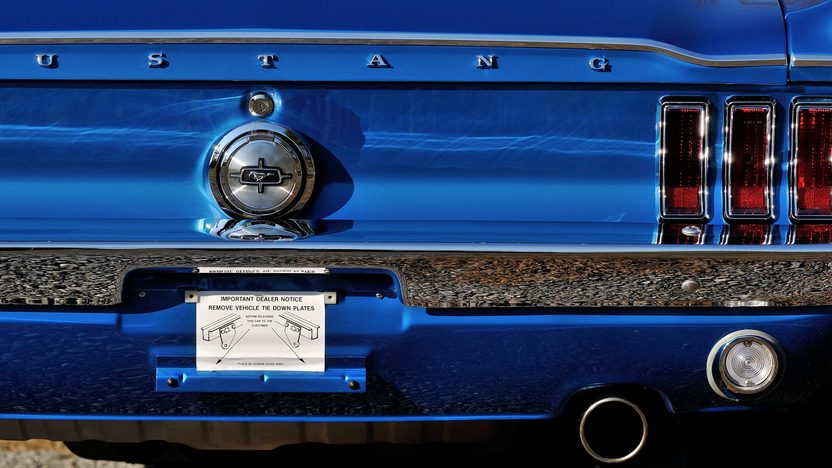 1968 Ford Mustang Fastback 390 CI, Rotisserie Restoration presented as lot T262 at Indianapolis, IN 2013 - image11