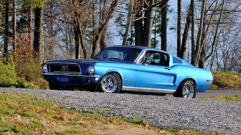 1968 Ford Mustang Fastback 390 CI, Rotisserie Restoration presented as lot T262 at Indianapolis, IN 2013 - image12