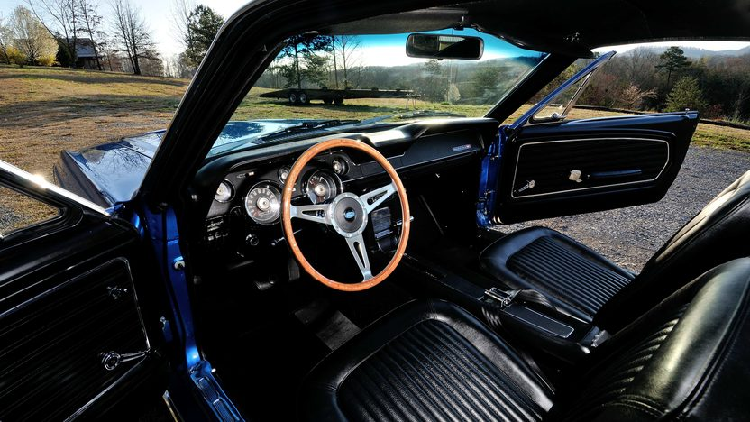 1968 Ford Mustang Fastback 390 CI, Rotisserie Restoration presented as lot T262 at Indianapolis, IN 2013 - image4