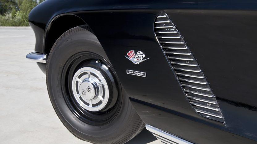 1962 Chevrolet Corvette Big Brake Fuelie 327/360 HP, Sebring Type Racing Equipment presented as lot T267 at Indianapolis, IN 2013 - image8