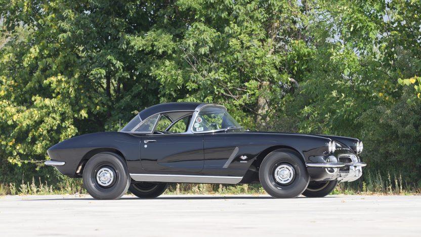 1962 Chevrolet Corvette Big Brake Fuelie 327/360 HP, Sebring Type Racing Equipment presented as lot T267 at Indianapolis, IN 2013 - image9