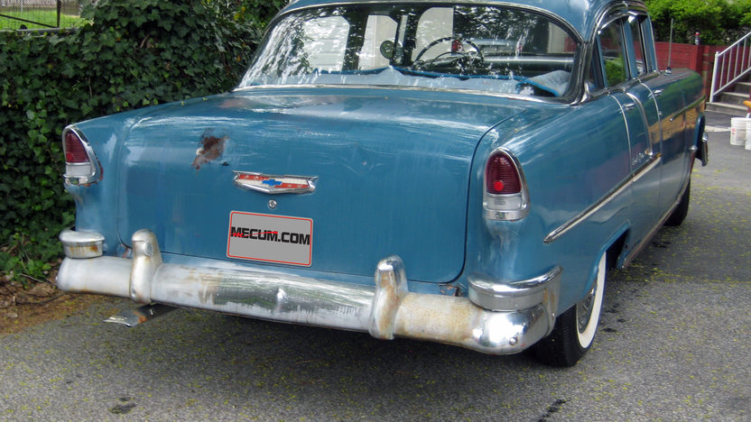 1955 Chevrolet Bel Air presented as lot G80 at Indianapolis, IN 2013 - image3