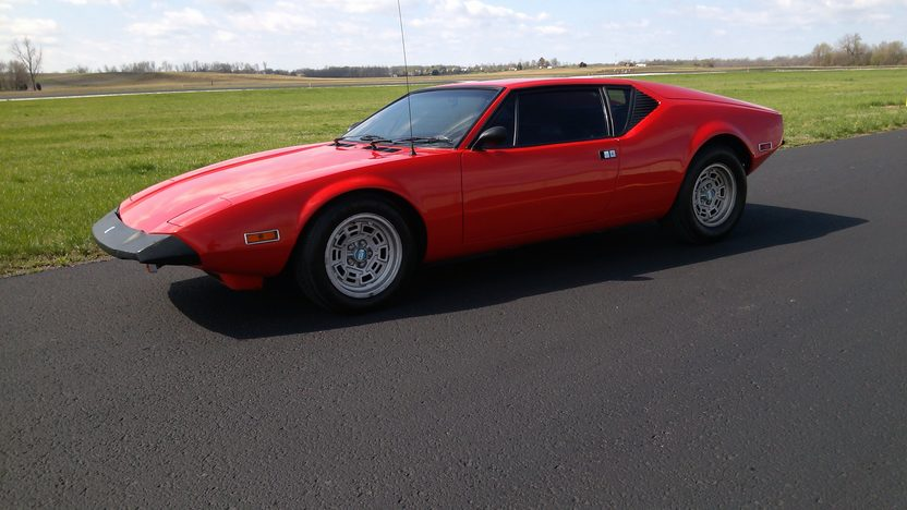 1972 DeTomaso Pantera 351 CI, 5-Speed presented as lot G154 at Indianapolis, IN 2013 - image6