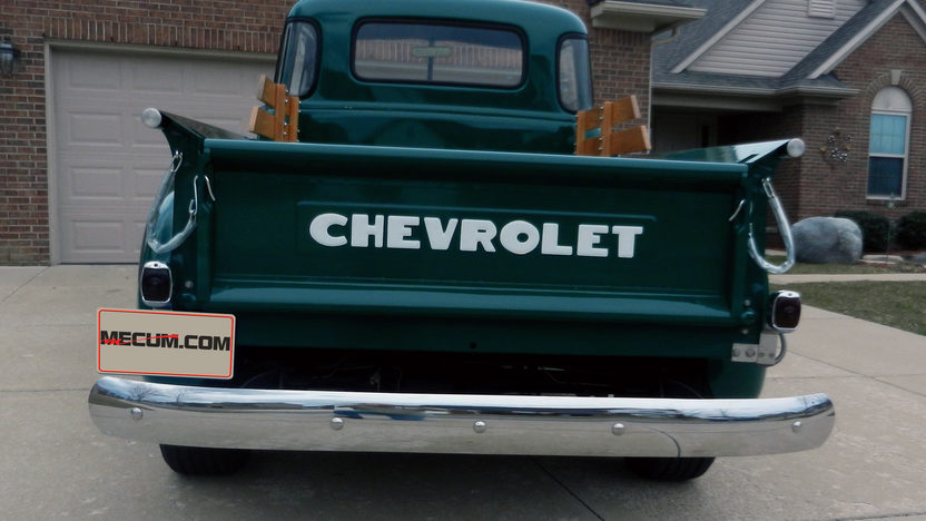 1952 Chevrolet 3600 Pickup 235/105 HP, 4-Speed presented as lot W295 at Indianapolis, IN 2013 - image3