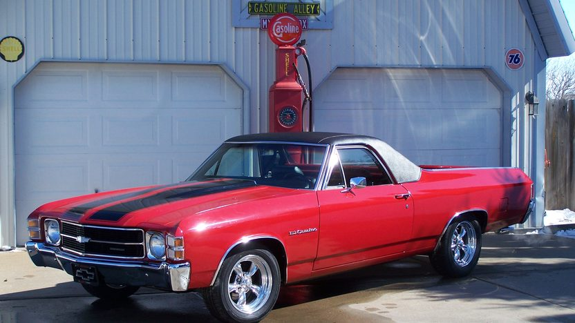 1971 Chevrolet El Camino 350/300 HP, Automatic presented as lot W69 at Indianapolis, IN 2013 - image8