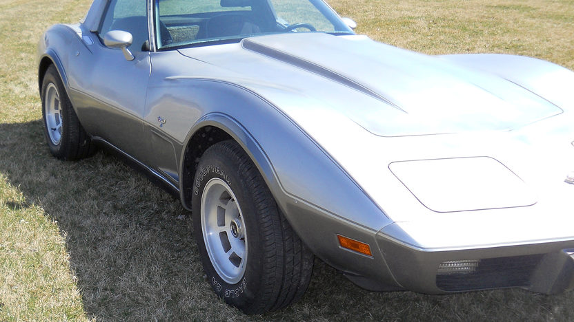1978 Chevrolet Corvette Silver Anniversary 350/195 HP, Automatic presented as lot W74 at Indianapolis, IN 2013 - image10