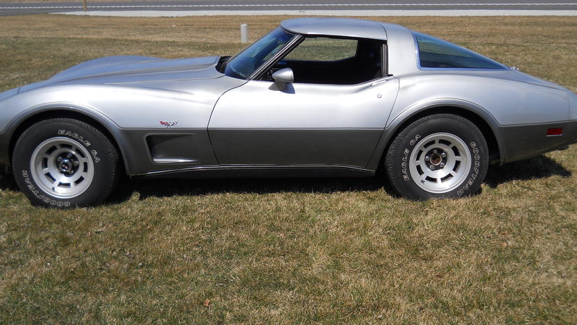 1978 Chevrolet Corvette Silver Anniversary 350/195 HP, Automatic presented as lot W74 at Indianapolis, IN 2013 - image2