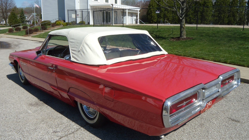 1964 Ford Thunderbird Convertible 390/300 HP, Automatic presented as lot W88 at Indianapolis, IN 2013 - image2