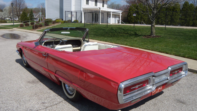 1964 Ford Thunderbird Convertible 390/300 HP, Automatic presented as lot W88 at Indianapolis, IN 2013 - image3