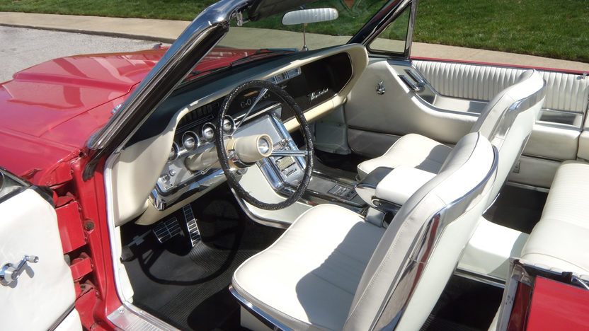 1964 Ford Thunderbird Convertible 390/300 HP, Automatic presented as lot W88 at Indianapolis, IN 2013 - image4