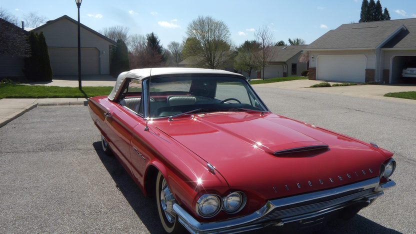 1964 Ford Thunderbird Convertible 390/300 HP, Automatic presented as lot W88 at Indianapolis, IN 2013 - image8