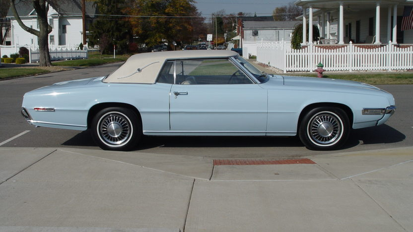 1968 Ford Thunderbird Landau 429 CI, Automatic presented as lot W202 at Indianapolis, IN 2013 - image2