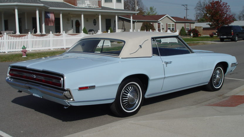 1968 Ford Thunderbird Landau 429 CI, Automatic presented as lot W202 at Indianapolis, IN 2013 - image3