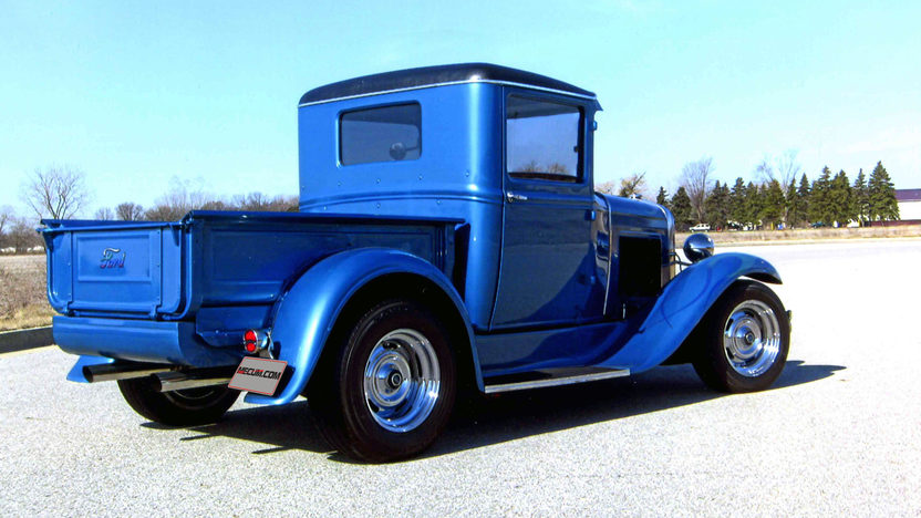 1930 Ford Model A Pickup 327 CI, Automatic presented as lot W230 at Indianapolis, IN 2013 - image6