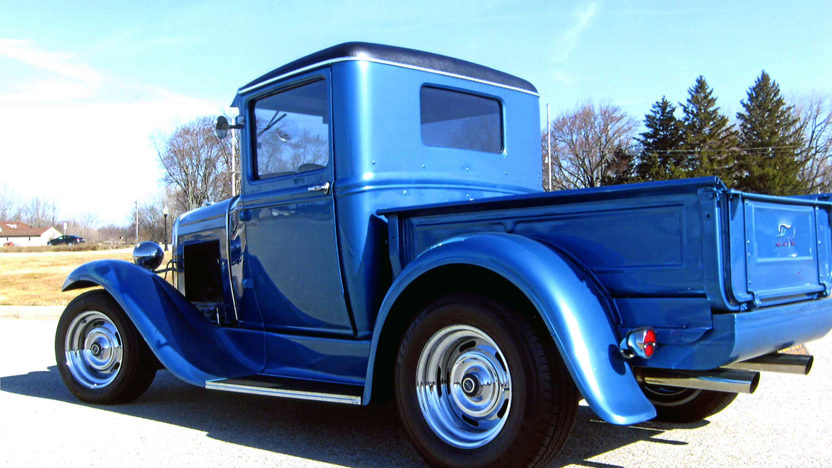 1930 Ford Model A Pickup 327 CI, Automatic presented as lot W230 at Indianapolis, IN 2013 - image7