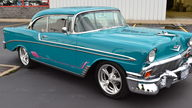 1956 Chevrolet Bel Air Hardtop 454 CI, Automatic presented as lot W256 at Indianapolis, IN 2013 - thumbail image6