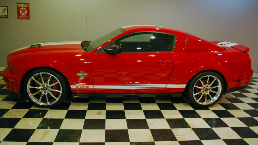 2008 Ford Mustang GT500 SE #26, 6,815 Miles presented as lot W257 at Indianapolis, IN 2013 - image2