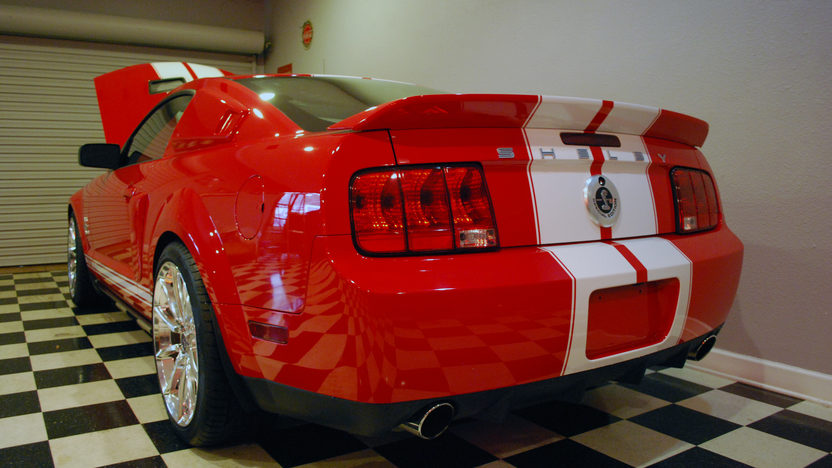 2008 Ford Mustang GT500 SE #26, 6,815 Miles presented as lot W257 at Indianapolis, IN 2013 - image3