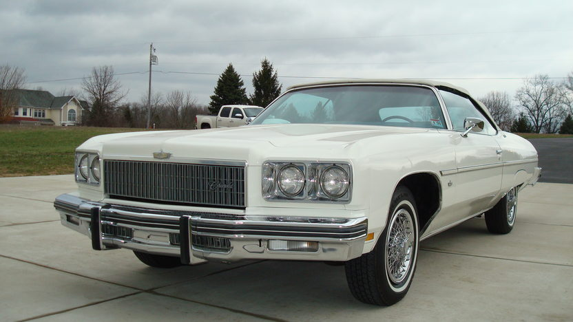 1975 Chevrolet Caprice Convertible 400 CI, Triple White presented as lot W259 at Indianapolis, IN 2013 - image7
