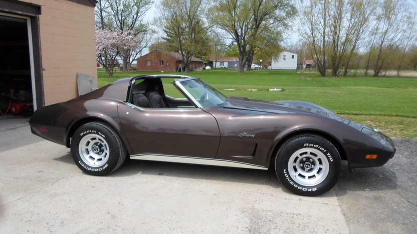 1976 Chevrolet Corvette 350 CI, Automatic presented as lot W272 at Indianapolis, IN 2013 - image2