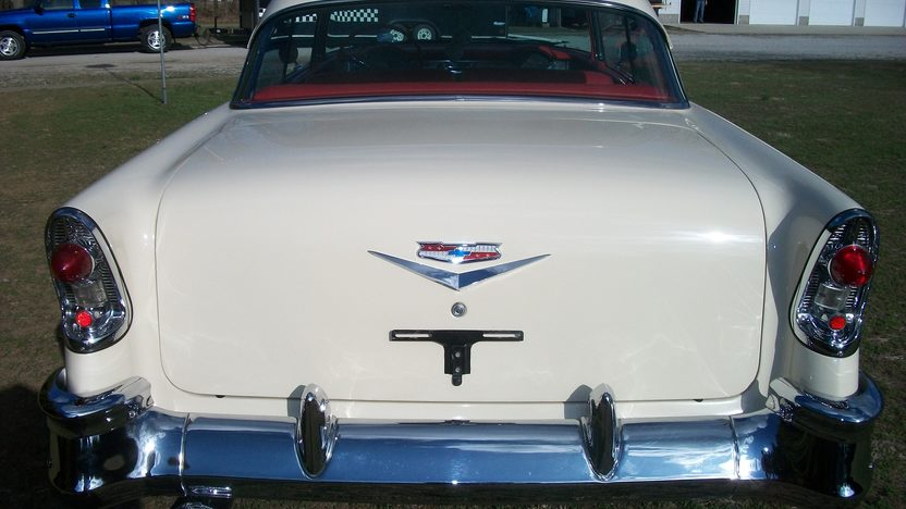 1956 Chevrolet Bel Air Hardtop 265 CI, 3-Speed presented as lot W273 at Indianapolis, IN 2013 - image2