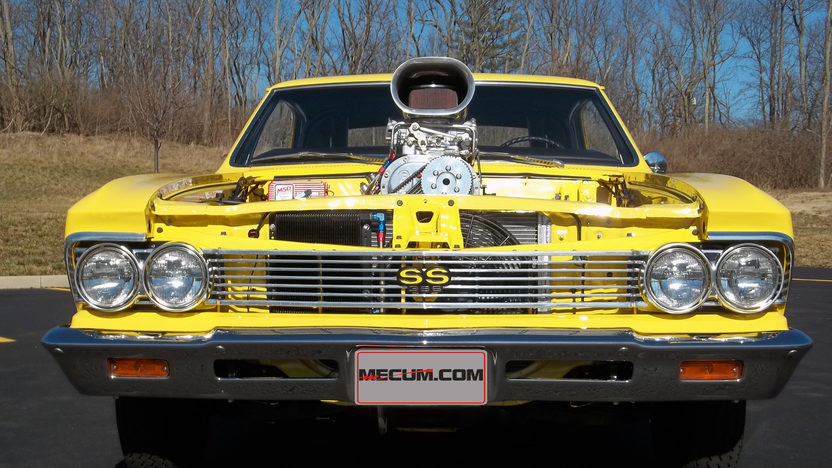 1966 Chevrolet Chevelle 871 Blown 396 CI, Automatic presented as lot T61 at Indianapolis, IN 2013 - image8