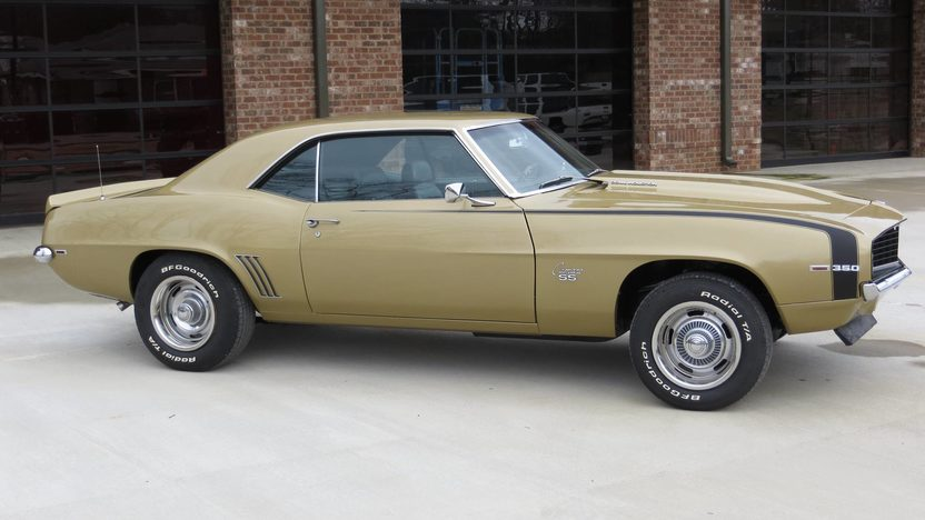 1969 Chevrolet Camaro SS Coupe 350 CI, 4-Speed presented as lot T73 at Indianapolis, IN 2013 - image2