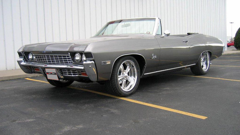 1968 Chevrolet Impala Convertible 540/600 HP, Aluminum Heads presented as lot T102 at Indianapolis, IN 2013 - image8