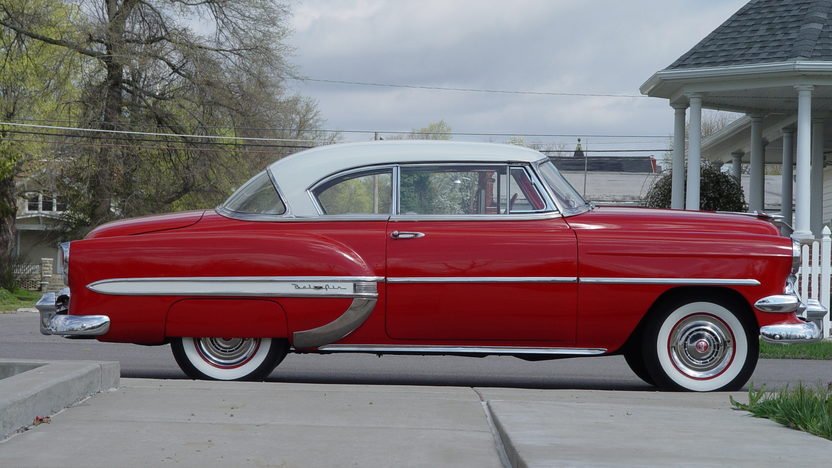 1954 Chevrolet Bel Air Hardtop 235 CI, 3-Speed presented as lot T116 at Indianapolis, IN 2013 - image2