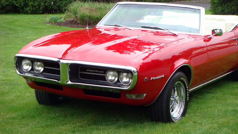 1968 Pontiac Firebird Convertible 350 CI, Automatic presented as lot T139 at Indianapolis, IN 2013 - image12