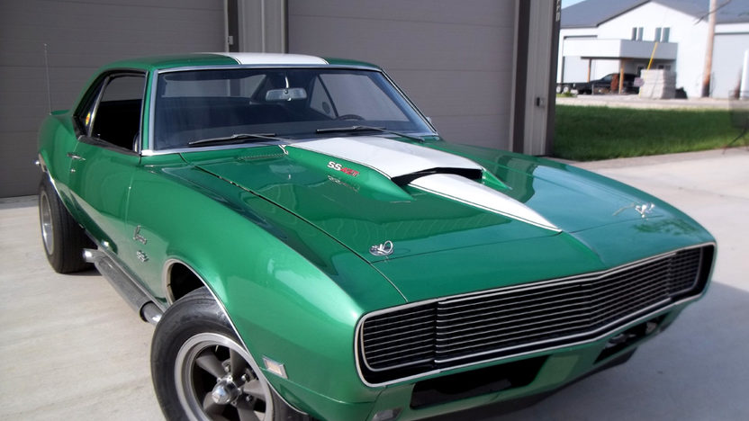 1968 Chevrolet Camaro presented as lot F9 at Indianapolis, IN 2013 - image7