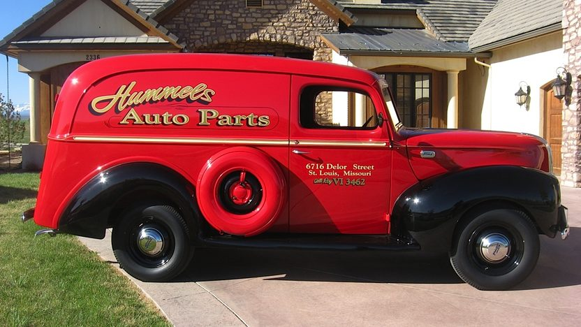 1941 Ford Panel Delivery Truck presented as lot F59 at Indianapolis, IN 2013 - image2
