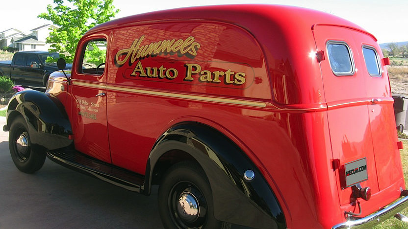 1941 Ford Panel Delivery Truck presented as lot F59 at Indianapolis, IN 2013 - image7