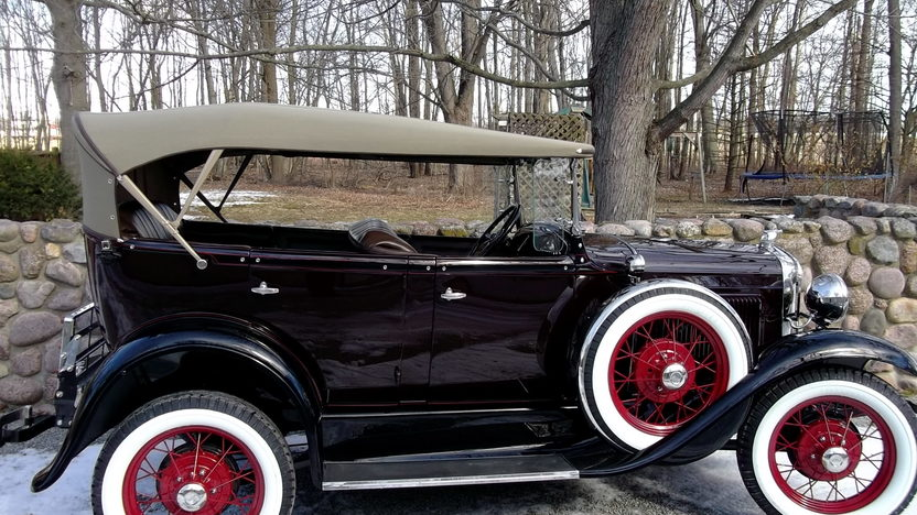 1930 Ford Phaeton presented as lot F69 at Indianapolis, IN 2013 - image2