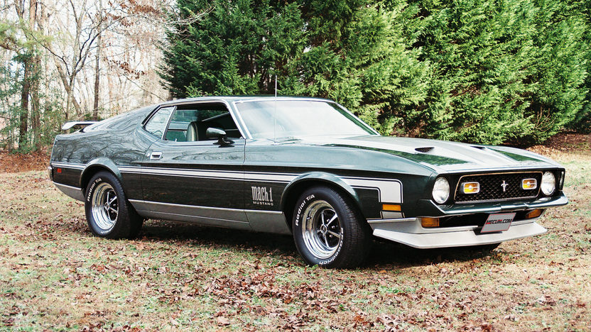 1971 Ford Mustang Mach 1 351 CI, 4-Speed presented as lot F91 at Indianapolis, IN 2013 - image10