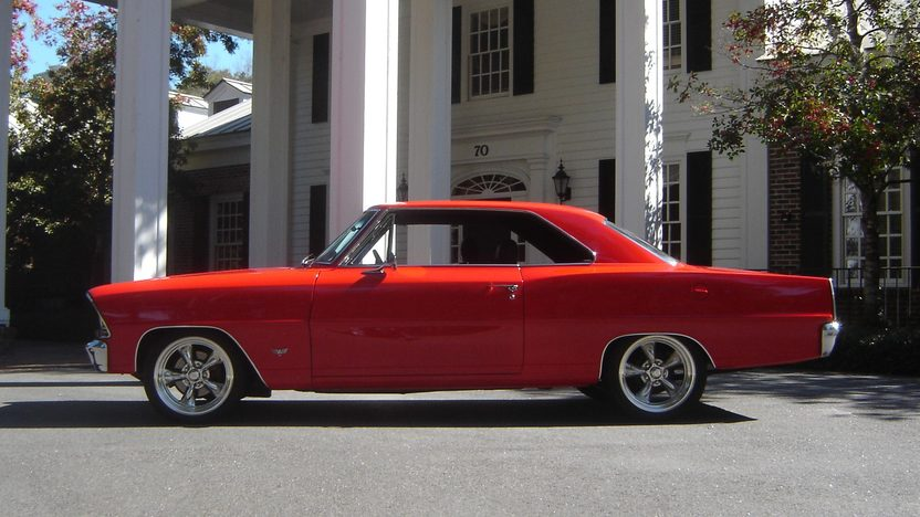 1967 Chevrolet Nova 350/350 HP presented as lot F108 at Indianapolis, IN 2013 - image2