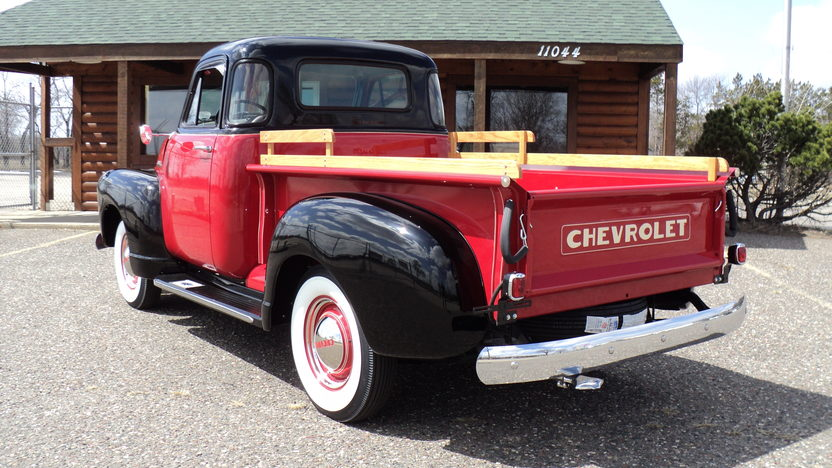 1952 Chevrolet 3100 Pickup presented as lot F121 at Indianapolis, IN 2013 - image2