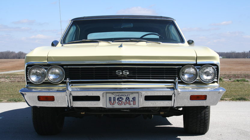 1966 Chevrolet Chevelle SS 396/360 HP, 4-Speed presented as lot F139 at Indianapolis, IN 2013 - image6