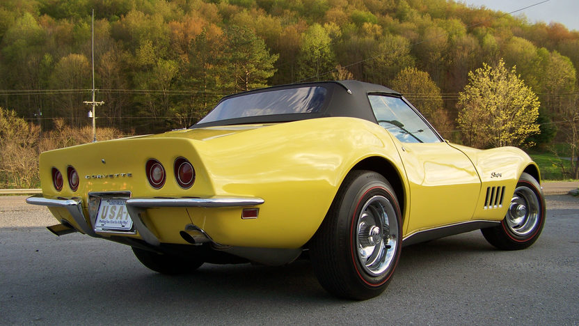 1969 Chevrolet Corvette Convertible 427/435 HP, 4-Speed presented as lot F170 at Indianapolis, IN 2013 - image2