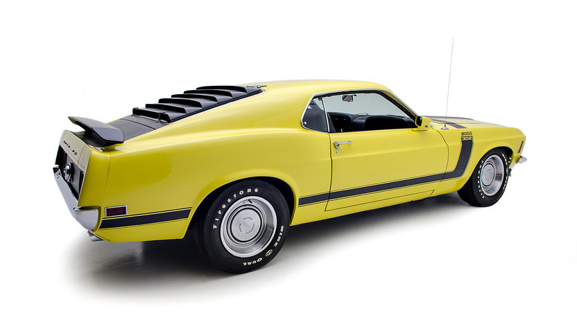 1970 Ford Mustang Boss 302 Fastback presented as lot F279 at Indianapolis, IN 2013 - image2