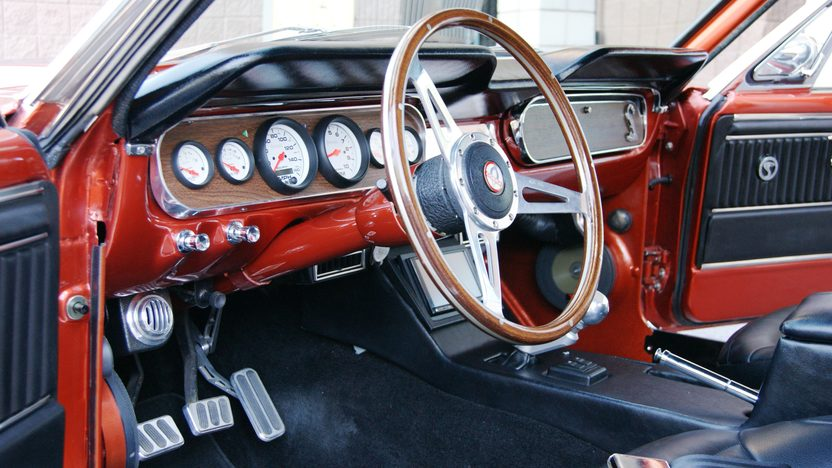 1965 Ford Mustang Fastback 347/450 HP, 5-Speed presented as lot F311 at Indianapolis, IN 2013 - image4